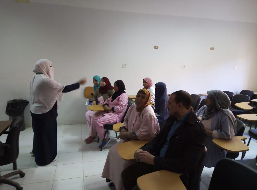 مستشفي الحسينية المركزي تحتفل باليوم العالمي للسكري