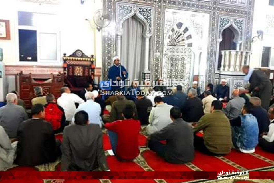 مستقبل وطن بديرب نجم يقيم أمسية دينية بمسجد النصر