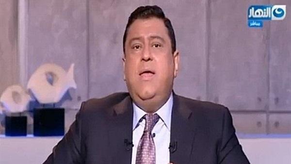 معتز الدمرداش يودع برنامجه في قناة النهار