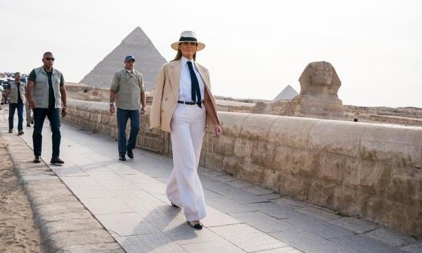 ميلانيا ترامب في القاهرة.. 6 ساعات بفاتورة خيالية