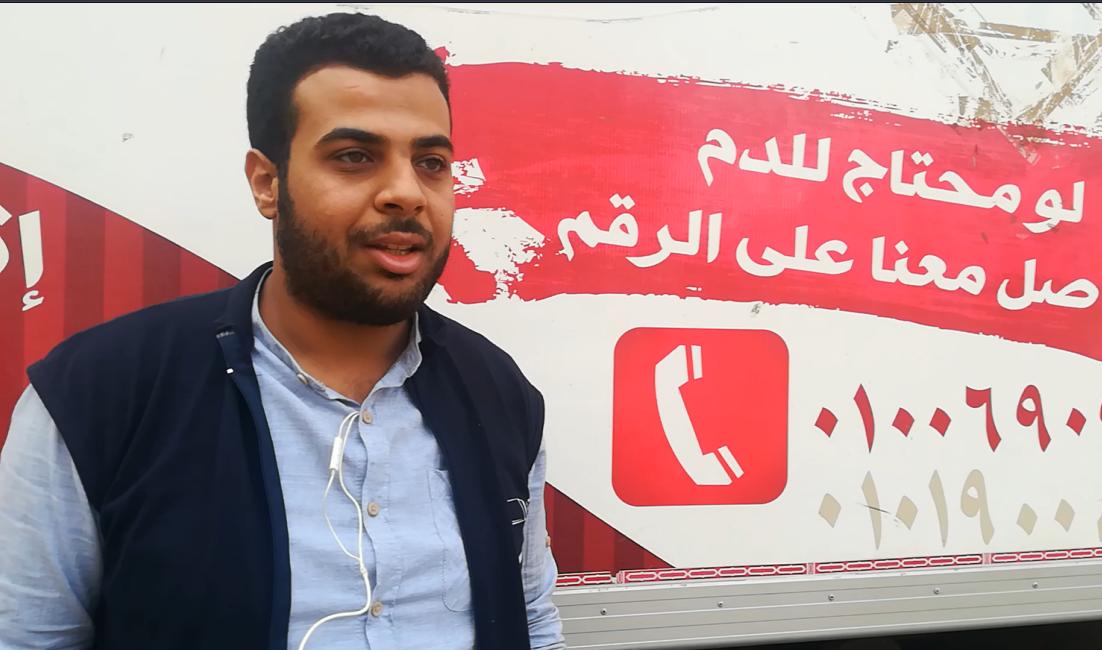 صناع الحياة تقيم حملة تبرع بالدم وكساء وتوعية ضد التدخين بإحدى قرى فاقوس