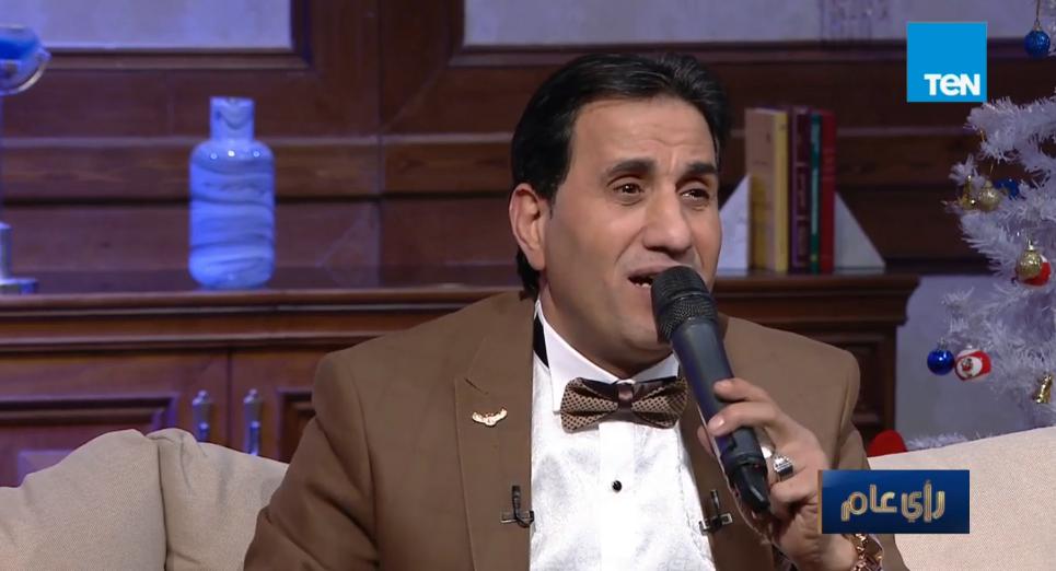 أحمد شيبه يبكي على الهواء