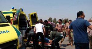 ارتفاع عدد ضحايا حادث طريق ههيا الزقازيق إلى6 وفيات