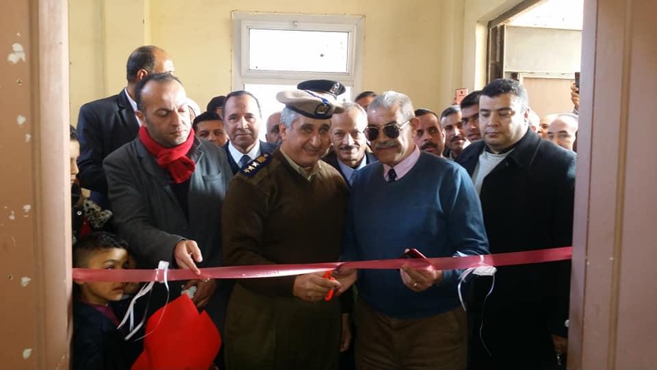 افتتاح سجل مدني بقرية الإخيوة بالحسينية