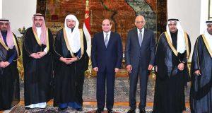 السيسي يشيد بمواقف السعودية تجاه مصر