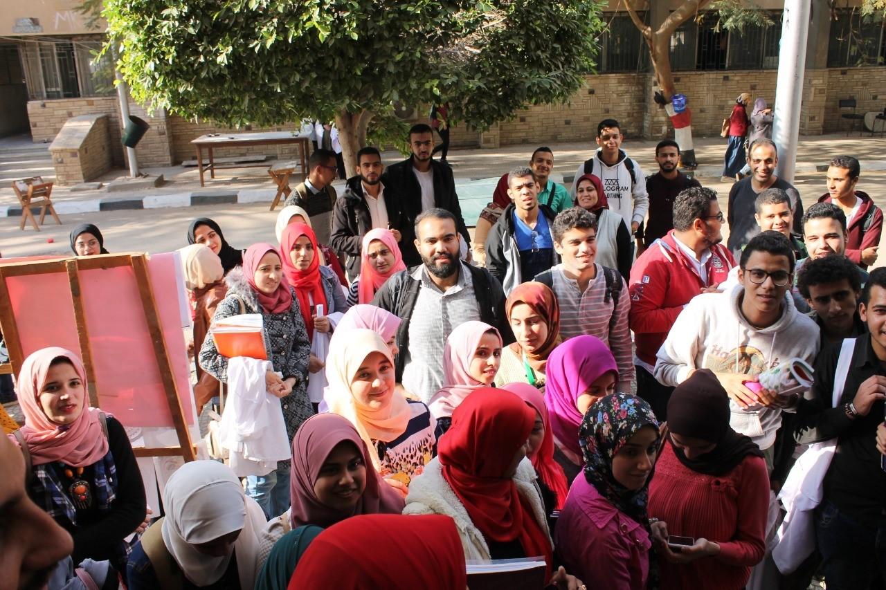 الطب البيطرى جامعة الزقازيق تنظم مهرجان كبير للأنشطة الطلابية