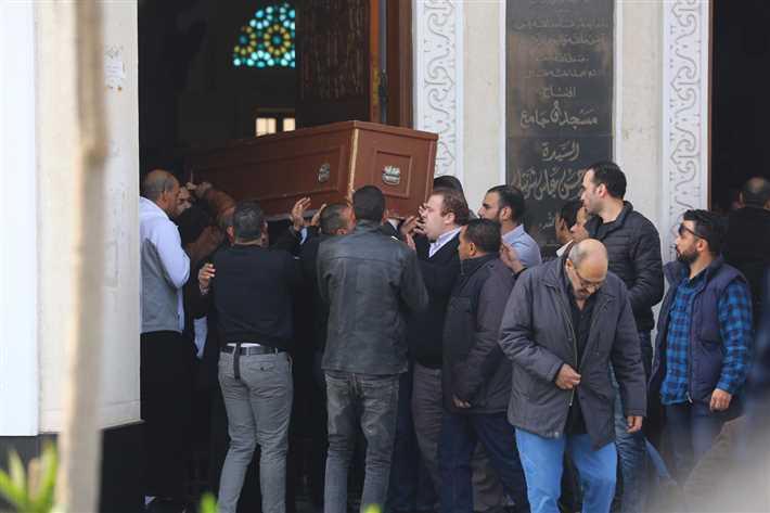 جنازة شقيق محمد فؤاد