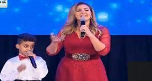 دنيا سمير غانم تغني «نفس الحروف» أمام السيسي