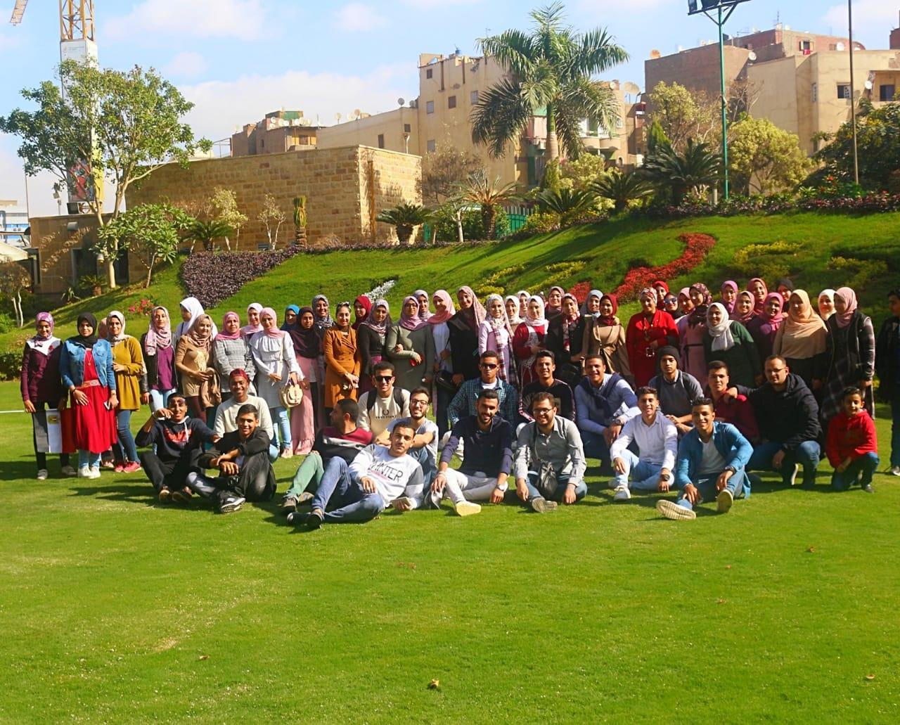 طلاب تمريض جامعة الزقازيق ينظمون رحلة لمستشفى 57357