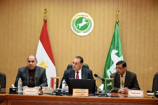 الشرقية يتابع أعمال لجنة التقسيم الإداري لمدينتي الحسينية و منشأة أبو عمر2
