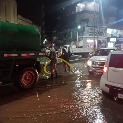محافظ الشرقية يكلف رؤساء المدن بسحب مياه الأمطار