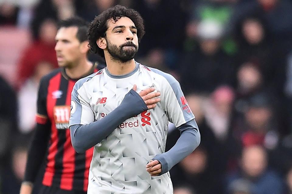 محمد صلاح يتصدر ترتيب هدافي الدوري الإنجليزي