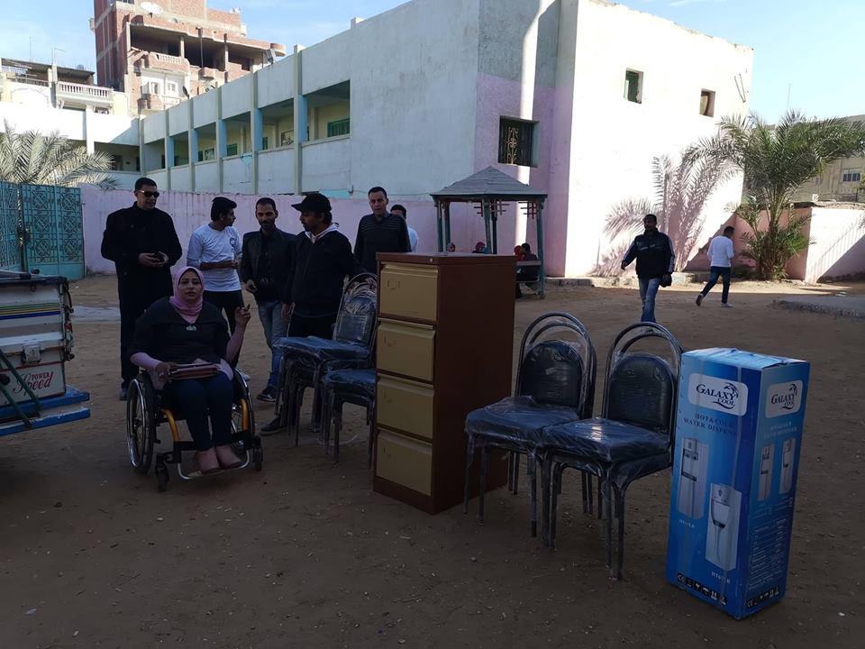 مستقبل وطن يدعم ثلاث مدارس من ذوي الاحتياجات بالزقازيق