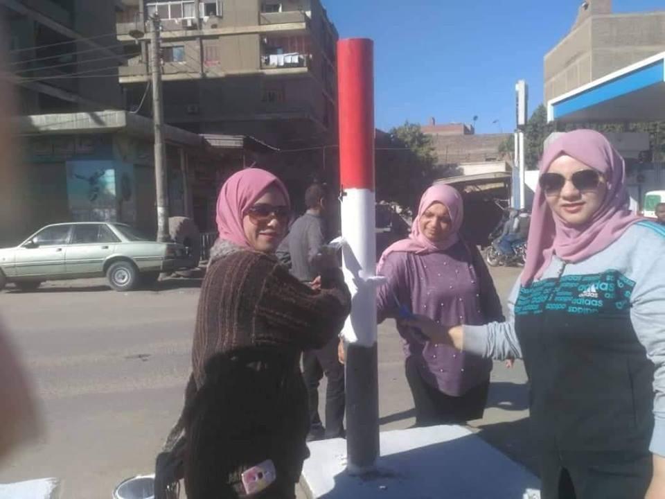 مستقبل وطن يقود حملة لتجميل شوارع بلبيس والتبرع بالدم