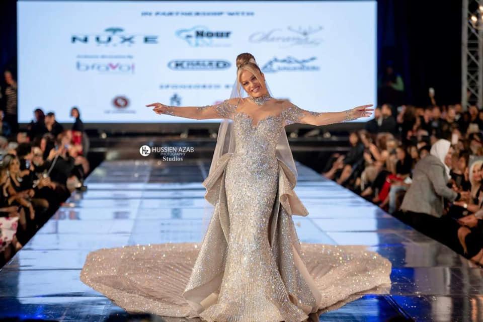 سابا تثير الجدل بسبب فستان الـ 200 مليون جنيه2