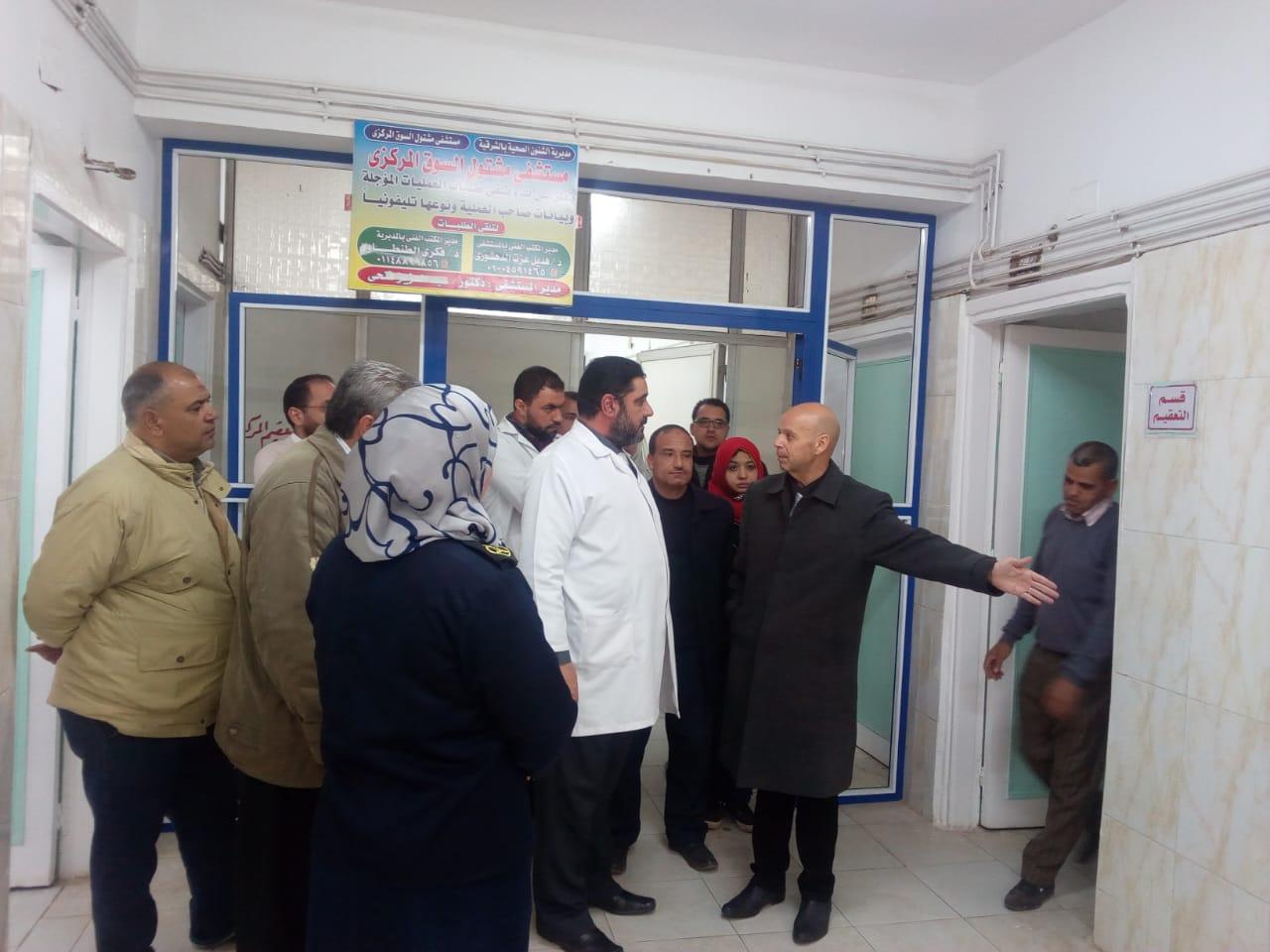 وزارة الصحة يتفقد مستشفي مشتول السوق المركزي