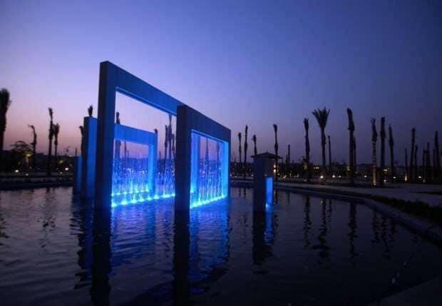 الحديقة المركزية بمدينة الشيخ زايد 3