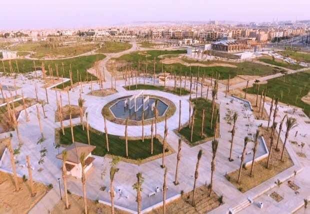 الحديقة المركزية بمدينة الشيخ زايد 7