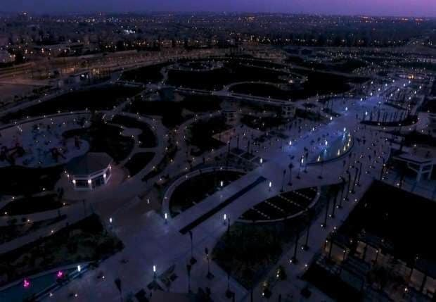 الحديقة المركزية بمدينة الشيخ زايد