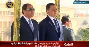 الرئيس السيسى يحتفل بعيد الشرطة الـ67