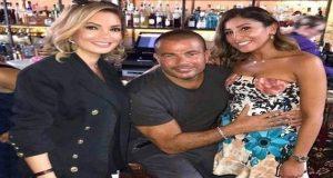 دينا الشربيني ترد على حملها من عمرو دياب
