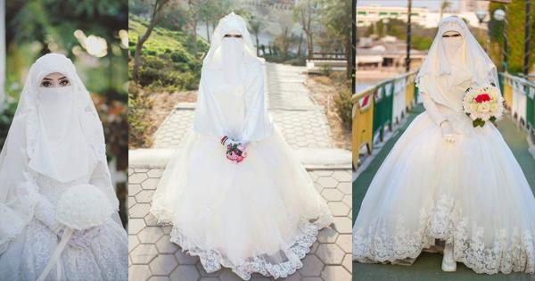 20f89db47 فساتين زفاف 2019 للمنتقبات | الشرقية توداي