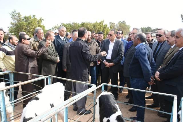 محافظ الشرقيةيتفقد شركة الصالحية للاستثمار بالصالحية الجديدة