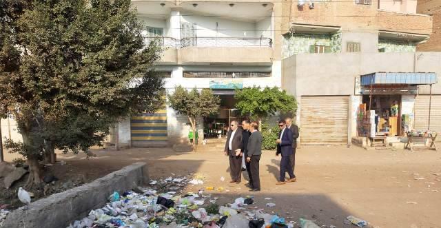 الشرقية يقيل رئيس الوحدة المحلية بقرية الجديدة بمنيا القمح2