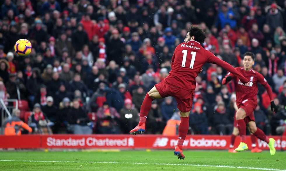 مدرب ليفربول يعلق على وصول محمد صلاح للهدف 50