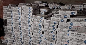 مستقبل وطن يستكمل توزيع 10 آلاف كرتونة غذائية بأسعار مخفضة بالشرقية