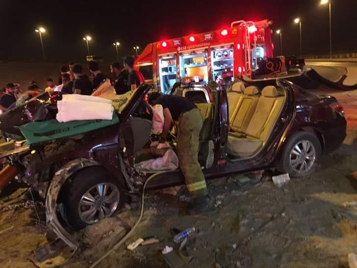 مصرع 6 مصريين فى حادث مروع بالكويت