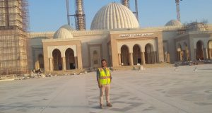 مهندس شرقاوي شارك في تشييد أكبر مسجد في مصر بالعاصمة الإدارية