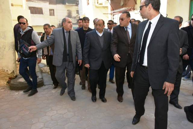 التنمية المحلية ومحافظ الشرقية يتفقدان أعمال تطوير مناطق عبد السلام عارف والدريسة وكفر معوض بالزقازيق