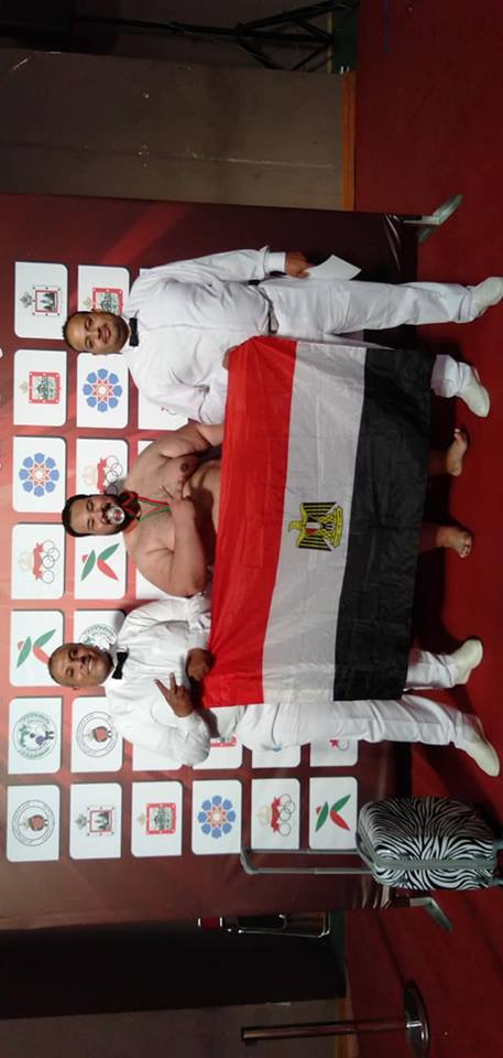 «إبراهيم عبد اللطيف» ابن الشرقية يفوز بميدالية ذهبية في بطولة أفريقيا