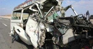 إصابة 6 أشخاص في حادث مروع بالعاشر من رمضان