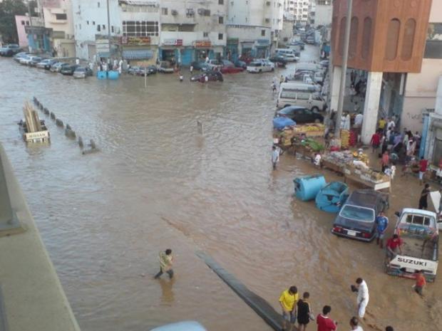 الأرصاد تكشف عن ثلاث مناطق تتعرض لسيول غدًا