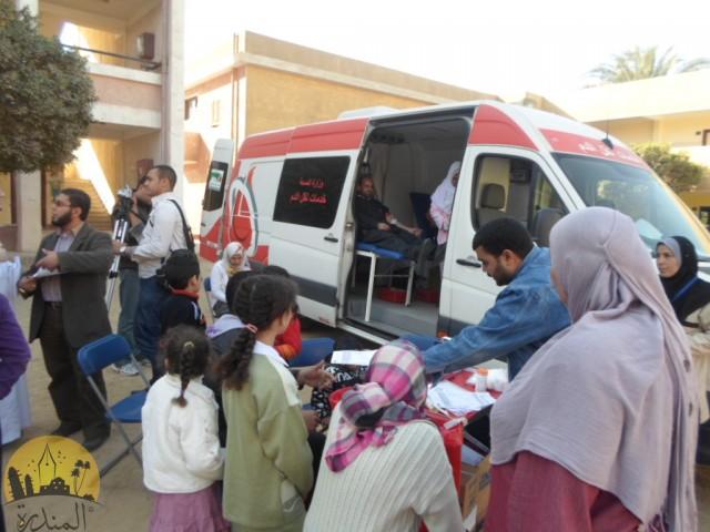 الصحة تحذر من سيارات التبرع بالدم