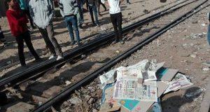 انتحار شاب تحت عجلات القطار بههيا