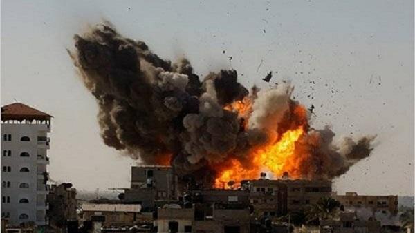 انفجار في أحد شوارع تل أبيب
