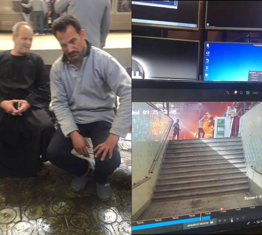 بطل إنقاذ مصابي حادث قطار محطة مصر يكشف اللحظات الأولى للحادث