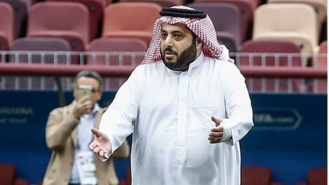 تركي آل الشيخ يعلق على رباعية بيراميدز في مرمى سموحة