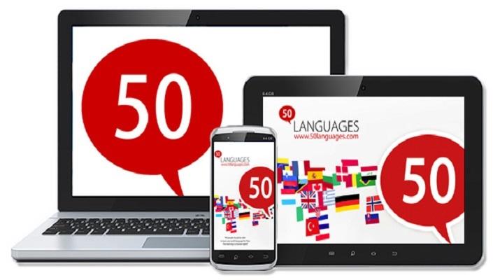 تطبيق مجاني يتيح لك تعلم 50 لغة بشكل احترافي