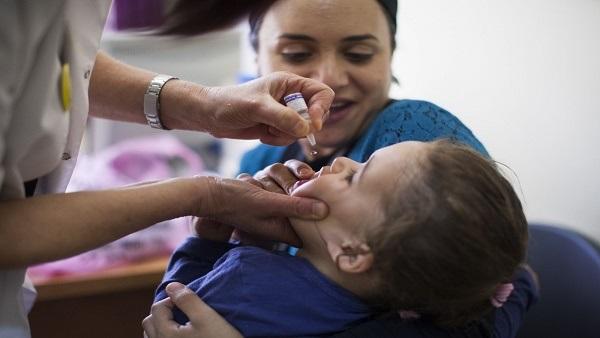 تطعيم 737 ألف طفل بالشرقية فى أول أيام حملة التطعيم ضد مرض شلل الأطفال