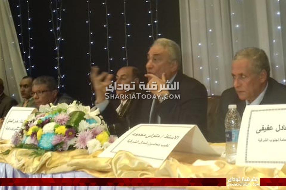 سامح عاشور يكرم شيوخ المحامين في الشرقية