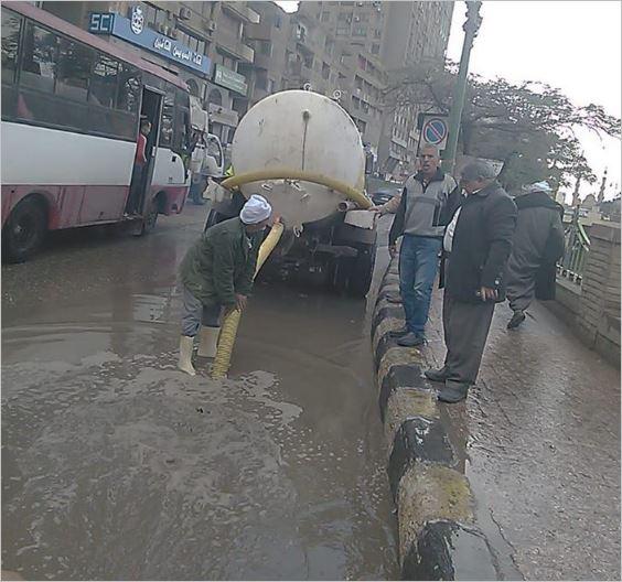 مياه الامطار من شوارع وميداين مراكز الشرقية 1