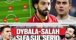 صحيفة إنجليزية تنشر تشكيل ليفربول بعد رحيل محمد صلاح