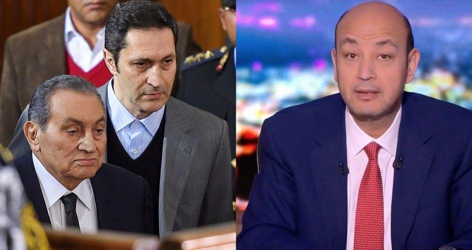 علاء مبارك يحرج عمرو أديب بمقطع فيديو
