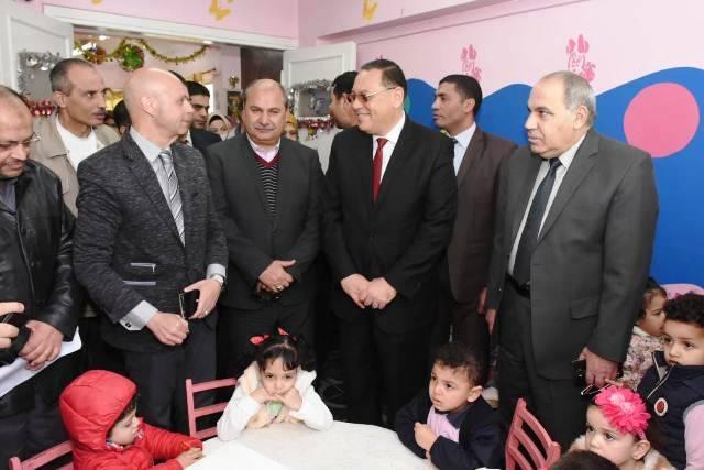 الشرقية يطلق الحملة القومية للتطعيم ضد شلل الأطفال 3