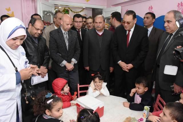 الشرقية يطلق الحملة القومية للتطعيم ضد شلل الأطفال 8