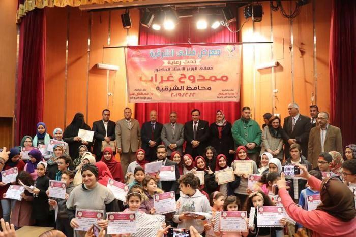 الشرقية يُشيد بأنشطة أجازة نصف العام بمكتبة مصر العامة بالزقازيق 1